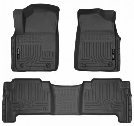 Husky Liners - Husky Liners 98611 WeatherBeater Front and Rear Floor Liner Set