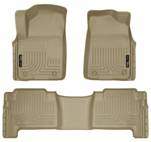 Husky Liners - Husky Liners 98613 WeatherBeater Front and Rear Floor Liner Set