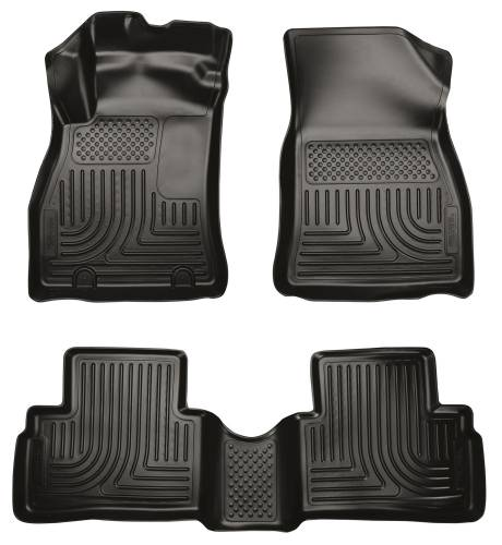 Husky Liners - Husky Liners 98621 WeatherBeater Front and Rear Floor Liner Set