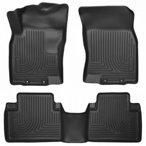 Husky Liners - Husky Liners 98671 WeatherBeater Front and Rear Floor Liner Set