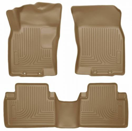 Husky Liners - Husky Liners 98673 WeatherBeater Front and Rear Floor Liner Set