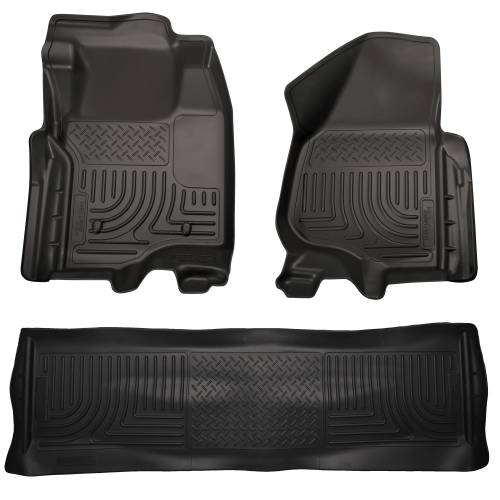 Husky Liners - Husky Liners 98711 WeatherBeater Front and Rear Floor Liner Set