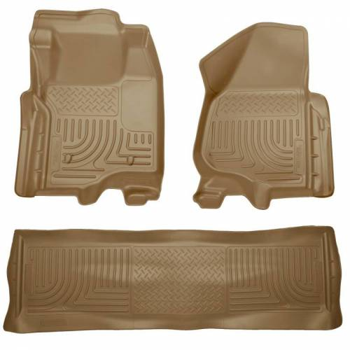 Husky Liners - Husky Liners 98713 WeatherBeater Front and Rear Floor Liner Set