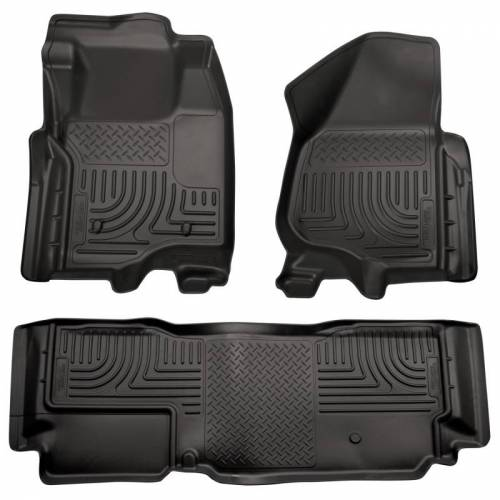 Husky Liners - Husky Liners 98721 WeatherBeater Front and Rear Floor Liner Set