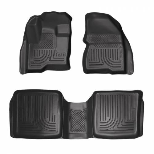 Husky Liners - Husky Liners 98741 WeatherBeater Front and Rear Floor Liner Set