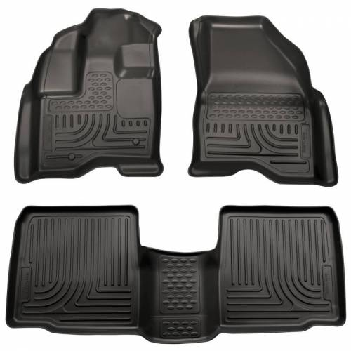 Husky Liners - Husky Liners 98761 WeatherBeater Front and Rear Floor Liner Set