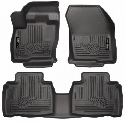 Husky Liners - Husky Liners 98781 WeatherBeater Front and Rear Floor Liner Set