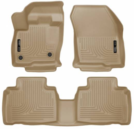 Husky Liners - Husky Liners 98783 WeatherBeater Front and Rear Floor Liner Set