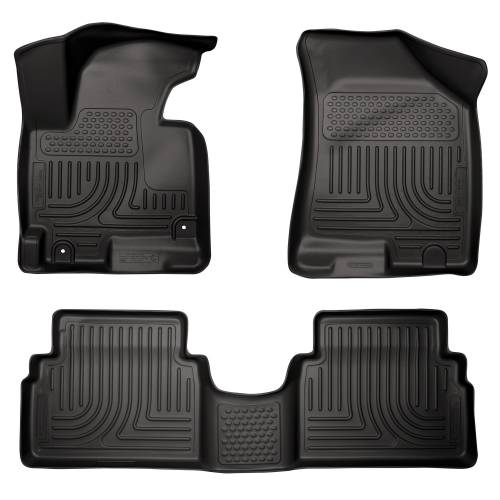 Husky Liners - Husky Liners 98861 WeatherBeater Front and Rear Floor Liner Set