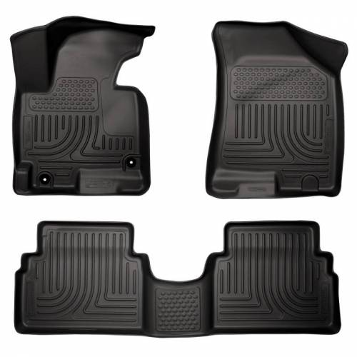 Husky Liners - Husky Liners 98881 WeatherBeater Front and Rear Floor Liner Set