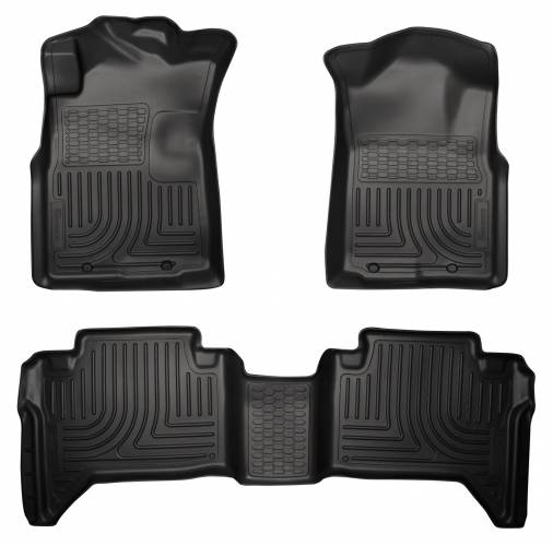 Husky Liners - Husky Liners 98951 WeatherBeater Front and Rear Floor Liner Set