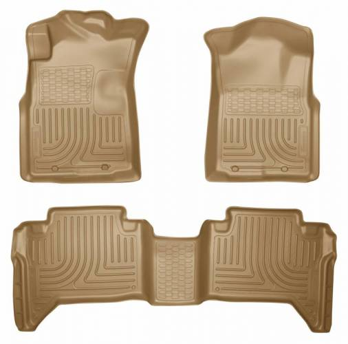 Husky Liners - Husky Liners 98953 WeatherBeater Front and Rear Floor Liner Set