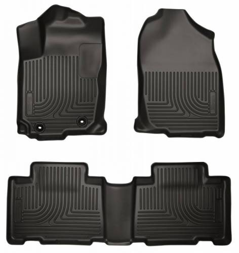 Husky Liners - Husky Liners 98971 WeatherBeater Front and Rear Floor Liner Set