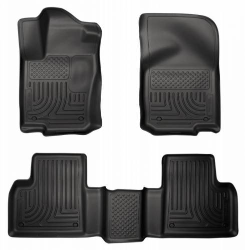 Husky Liners - Husky Liners 98981 WeatherBeater Front and Rear Floor Liner Set