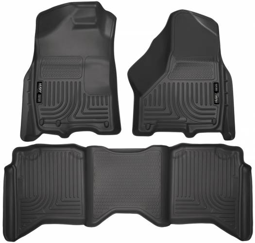 Husky Liners - Husky Liners 99001 WeatherBeater Front and Rear Floor Liner Set
