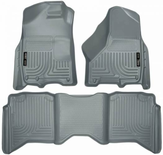 Husky Liners - Husky Liners 99002 WeatherBeater Front and Rear Floor Liner Set