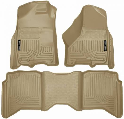 Husky Liners - Husky Liners 99003 WeatherBeater Front and Rear Floor Liner Set