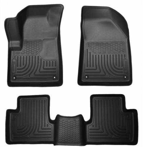 Husky Liners - Husky Liners 99031 WeatherBeater Front and Rear Floor Liner Set