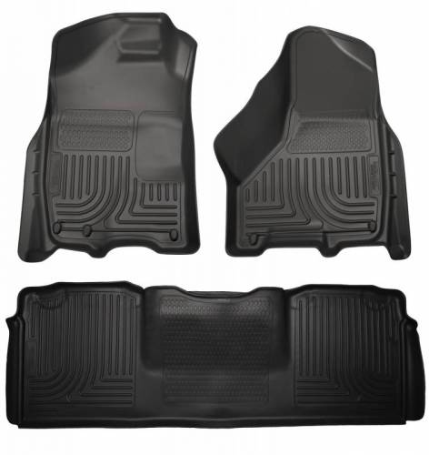 Husky Liners - Husky Liners 99041 WeatherBeater Front and Rear Floor Liner Set