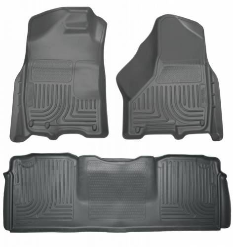 Husky Liners - Husky Liners 99042 WeatherBeater Front and Rear Floor Liner Set