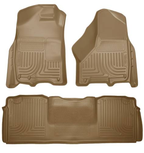 Husky Liners - Husky Liners 99043 WeatherBeater Front and Rear Floor Liner Set