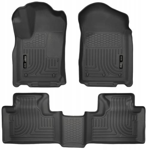 Husky Liners - Husky Liners 99051 WeatherBeater Front and Rear Floor Liner Set