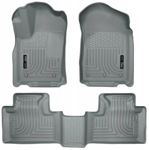 Husky Liners - Husky Liners 99052 WeatherBeater Front and Rear Floor Liner Set
