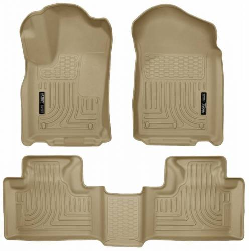 Husky Liners - Husky Liners 99053 WeatherBeater Front and Rear Floor Liner Set