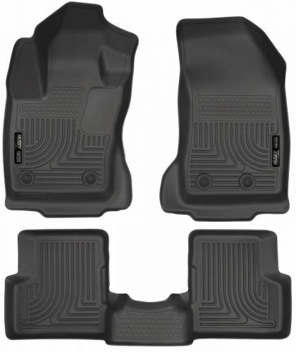 Husky Liners - Husky Liners 99081 WeatherBeater Front and Rear Floor Liner Set