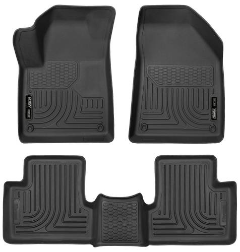 Husky Liners - Husky Liners 99091 WeatherBeater Front and Rear Floor Liner Set