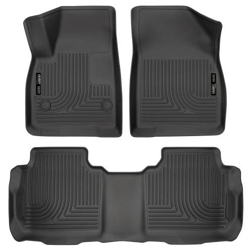 Husky Liners - Husky Liners 99141 WeatherBeater Front and Rear Floor Liner Set