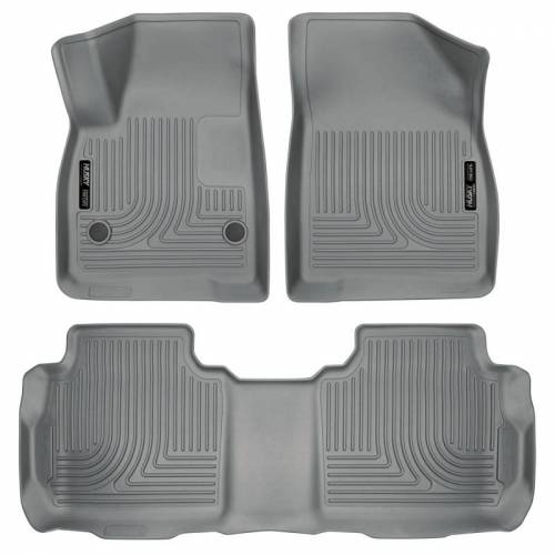 Husky Liners - Husky Liners 99142 WeatherBeater Front and Rear Floor Liner Set
