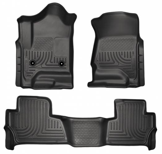 Husky Liners - Husky Liners 99201 WeatherBeater Front and Rear Floor Liner Set