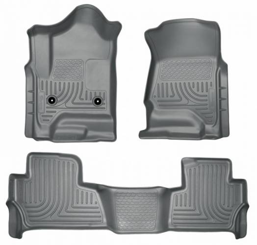Husky Liners - Husky Liners 99202 WeatherBeater Front and Rear Floor Liner Set