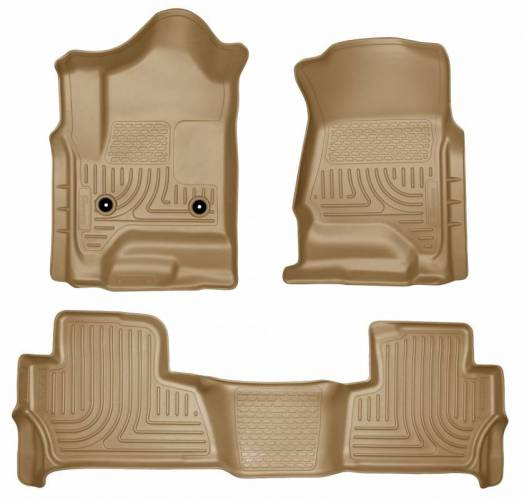 Husky Liners - Husky Liners 99203 WeatherBeater Front and Rear Floor Liner Set