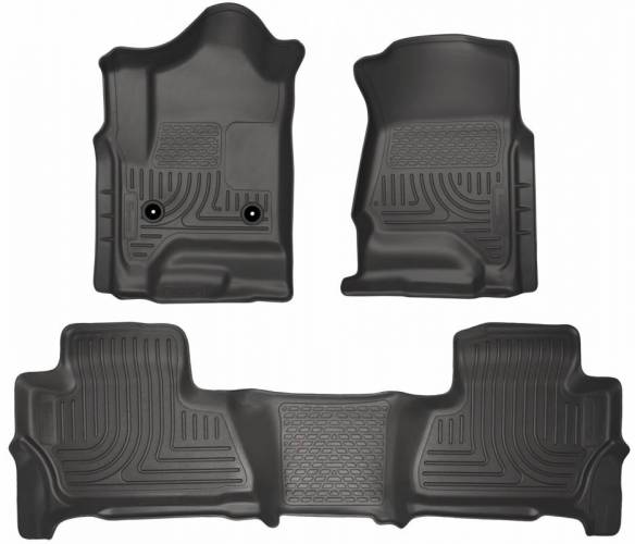 Husky Liners - Husky Liners 99211 WeatherBeater Front and Rear Floor Liner Set