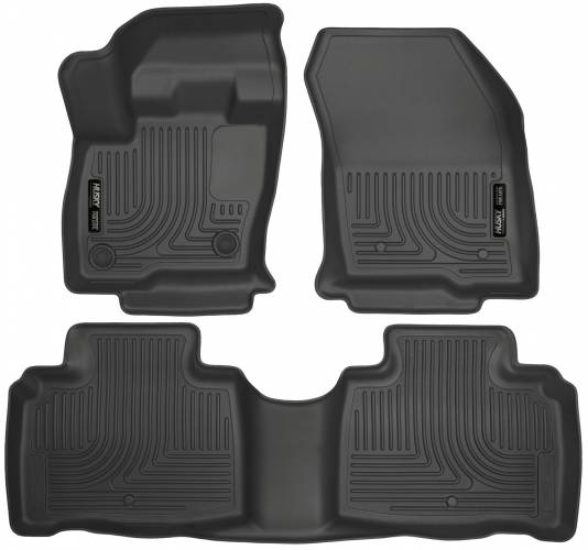 Husky Liners - Husky Liners 99311 WeatherBeater Front and Rear Floor Liner Set