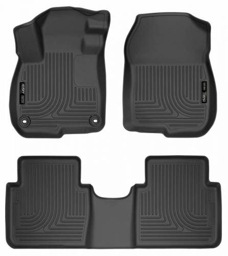 Husky Liners - Husky Liners 99401 WeatherBeater Front and Rear Floor Liner Set