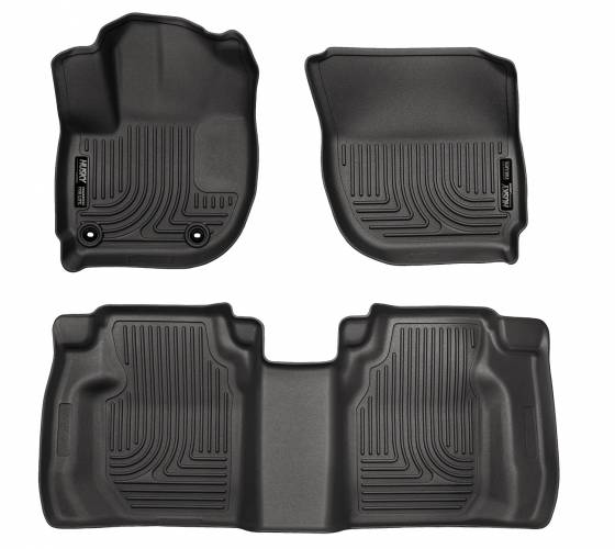 Husky Liners - Husky Liners 99491 WeatherBeater Front and Rear Floor Liner Set