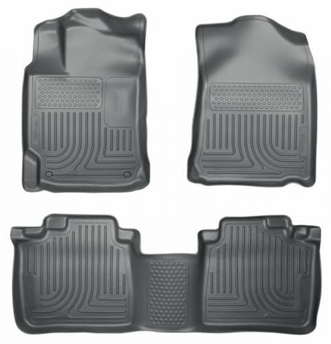 Husky Liners - Husky Liners 99552 WeatherBeater Front and Rear Floor Liner Set