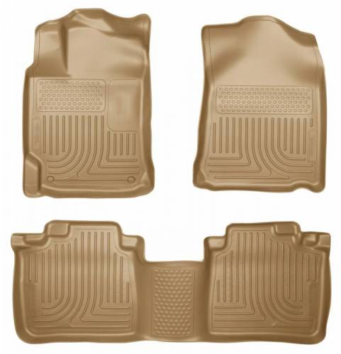 Husky Liners - Husky Liners 99553 WeatherBeater Front and Rear Floor Liner Set