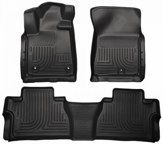 Husky Liners - Husky Liners 99561 WeatherBeater Front and Rear Floor Liner Set