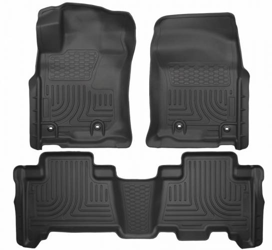 Husky Liners - Husky Liners 99571 WeatherBeater Front and Rear Floor Liner Set