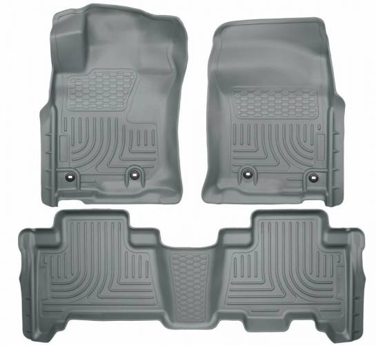 Husky Liners - Husky Liners 99572 WeatherBeater Front and Rear Floor Liner Set