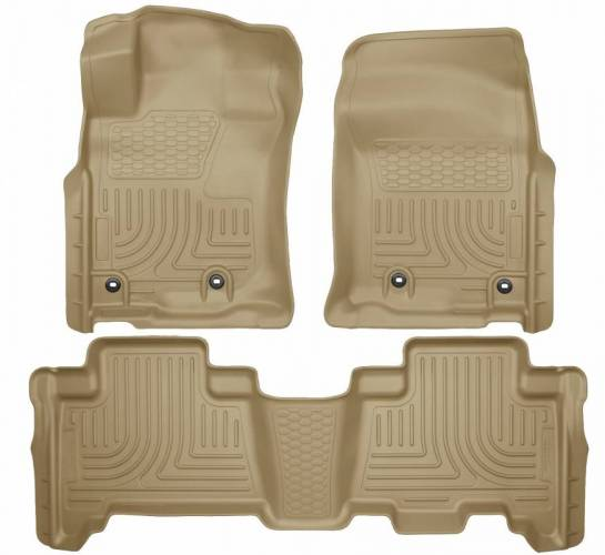 Husky Liners - Husky Liners 99573 WeatherBeater Front and Rear Floor Liner Set