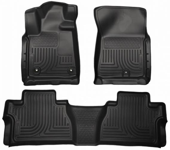 Husky Liners - Husky Liners 99581 WeatherBeater Front and Rear Floor Liner Set