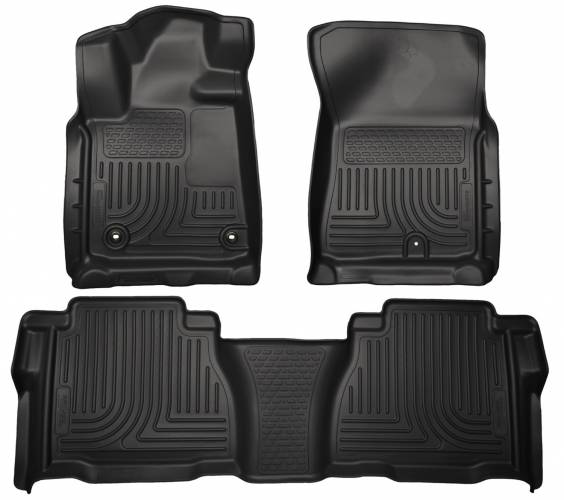 Husky Liners - Husky Liners 99591 WeatherBeater Front and Rear Floor Liner Set