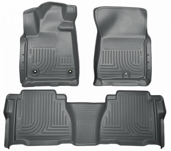Husky Liners - Husky Liners 99592 WeatherBeater Front and Rear Floor Liner Set