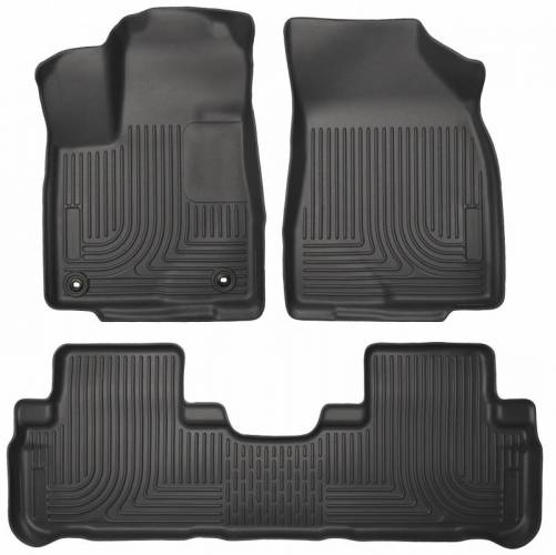 Husky Liners - Husky Liners 99601 WeatherBeater Front and Rear Floor Liner Set