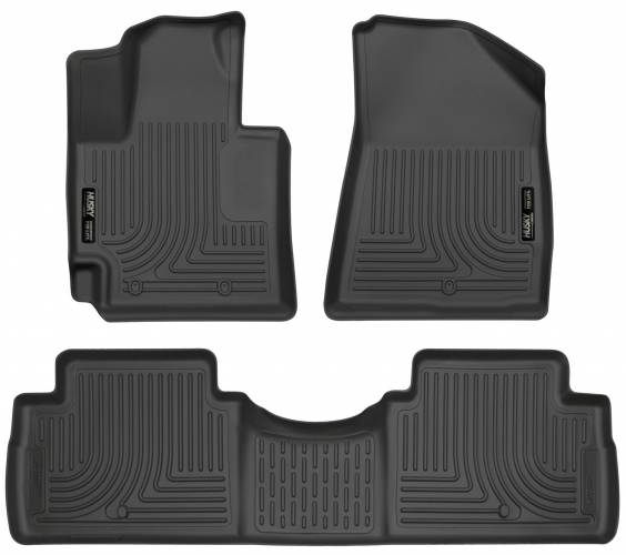 Husky Liners - Husky Liners 99611 WeatherBeater Front and Rear Floor Liner Set
